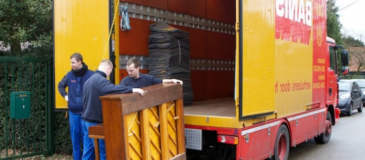 Sending furniture to the Netherlands
